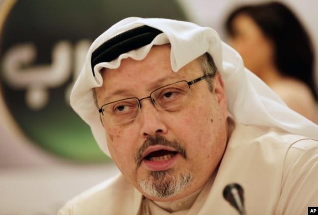 Periodista y disidente saudí, Jamal Khashoggi.