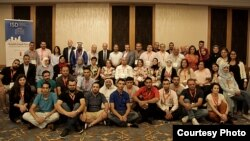 80 members of the Strong Cities Network's Local Prevention Networks from across six Jordanian and Lebanese municipalities convened last month in Beirut. (Photo: Strong Cities Network)