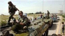 حمله شورشیان سوری به یک پایگاه نظامی