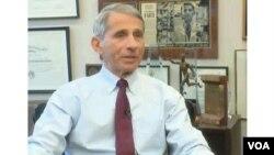 Le Dr. Anthony Fauci des Instituts nationaux américains de la santé