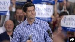 Cawapres Partai Republik, Paul Ryan mengritik kebijakan luar negeri Presiden Obama (foto: dok).