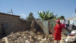 Houses destroyed under Operation Murambatsvina in 2005.