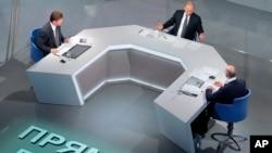 Путін відповідає на запитання глядачів