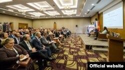 Crnogorski premijer Milo Đukanović u Američkoj privrednoj komori (gov.me)