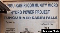 Hydropower Transforms Kenyan Village