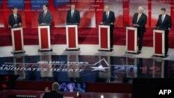 Состоялись очередные теледебаты кандидатов-республиканцев