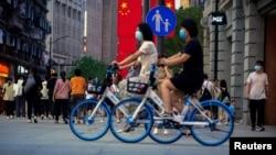 Ulice Šangaja tokom pandemije koronavirusa, 10. maj 2021.
