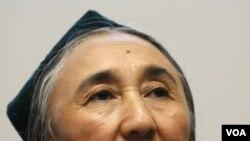 Aktivis Uighur terkemuka, Rebiya Kadeer, yang sekarang tinggal di Amerika Serikat.
