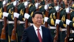 中国政治强人习近平(资料照片)