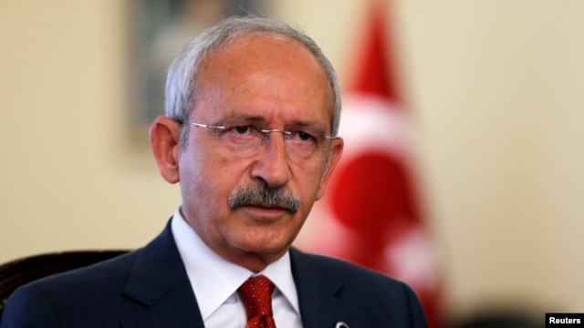 Turkey's main opposition Republican People's Party (CHP) head Kemal Kilicdaroglu in Ankara, April 4, 2014.