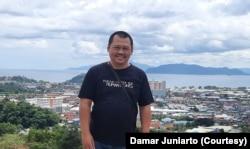 Direktur Eksekutif SAFEnet, Damar Juniarto. (Foto: Dokumen Pribadi)