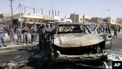 هلاکت چندین عراقی در نتیجۀ انفجار