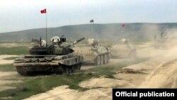 Azərbaycan-Türkiyə taktiki təlim keçirir