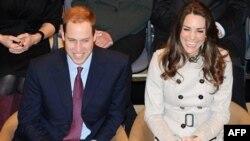 Hoàng tử William và vị hôn thê Kate Middleton
