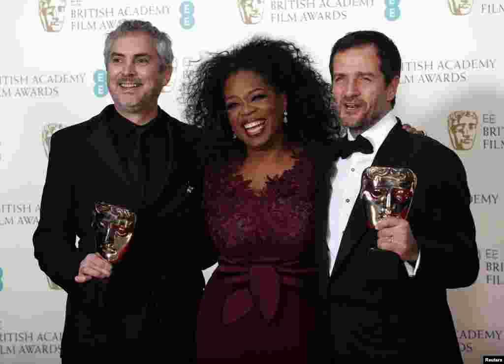 برطانیہ کی فلمی دنیا کے معتبر اور آسکرز کے ہم پلہ سمجھے جانے والے برٹش اکیڈمی فلم ایوارڈز یا 'بافٹا ایوارڈز ' سال 2014 کی تقریب میں سائنس فکشن فلم ' گریوٹی' نے سب سے زیادہ ایوارڈز حاصل کر کے میدان مار لیا ہے۔