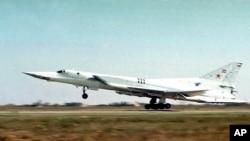 Российский стратегический бомбардировщик Ту-22м3