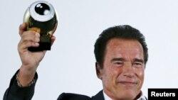 Arnold Schwarzenegger, ancien gouverneur de Californie aux Etats-Unis.