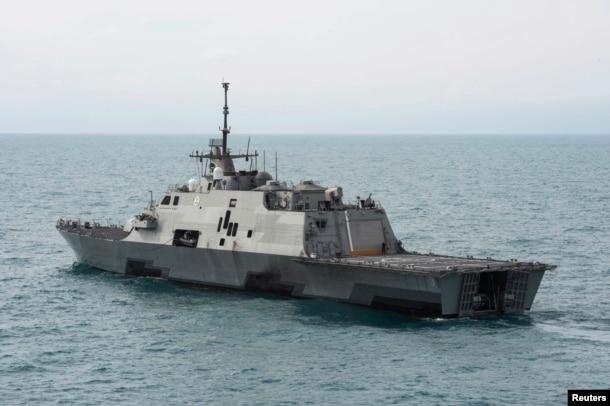 美国海军沃斯堡号濒海战斗舰