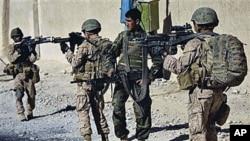 عملیات مشترک نیروهای افغان و ائتلاف در کابل