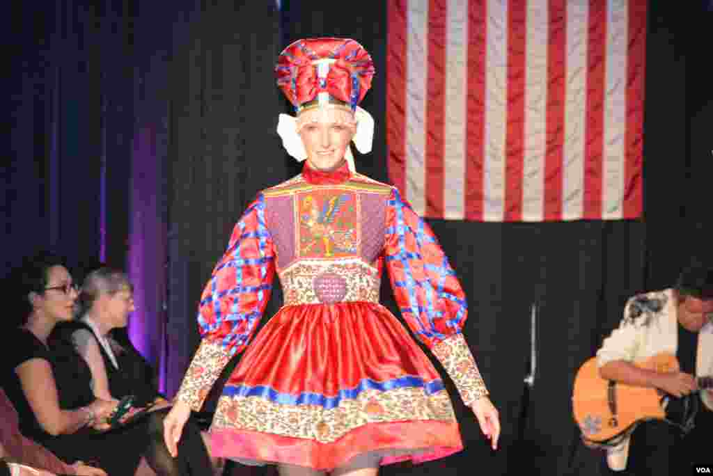 Russian fashion parade in Maryland #15