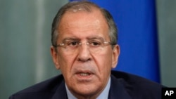俄罗斯外长拉夫罗夫 (资料图片)