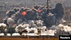 Коаліційні літаки завдають ударів ісламістам у Кобані