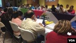 El salario mínimo en Nicaragua varia entre 4 mil y 7 mil córdobas (unos 130 y220 dólares), dependiendo del sector laboral.