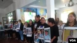 La Asociación de Madres de Abril, que aglutina a los familiares de personas asesinadas por la represión desde el 19 de abril de 2018, anunció acciones legales en contra de la Ley de Amnistía.