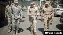 ԱՄՆ-ի զինված ուժերի հրամանատարական անձնակազմի ղեկավար, գեներալ Մարտին Դեմփսիի այցն Աֆղանստան, 20 օգոստոսի 2012թ.