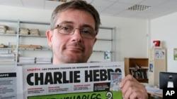 Editor tabloid mingguan Charlie Hebdo, Stephane Charbonnier, yang terbunuh dalam serangan Rabu (7/1), berada pada barisan terdepan dalam memperjuangkan hak kebebasan berekspresi di Perancis (foto: dok).