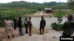 ထိုင္း - ျမန္မာနယ္စပ္ ျမင္ကြင္း။ (ဓာတ္ပံု - Thai Official - ၾသဂုတ္ ၂၀၊ ၂၀၂၀)