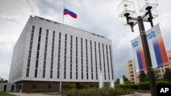 Частина комплексу російського посольства у Вашингтоні