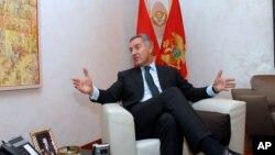 Crnogorski premijer Milo Đukanović