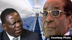 Owayengumongameli, uMnu. Robert Mugabe loMongameli Emmerson Mnangagwa