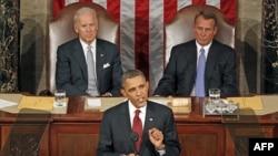 Tổng thống Hoa Kỳ Barack Obama đọc Thông điệp về Tình trạng Liên bang trước lưỡng viện Quốc Hội, ngày 24/1/2012