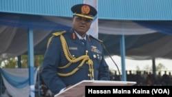 Babban Hafsan sojojin saman Najeriya Air Marshall Sadique Abubakar.