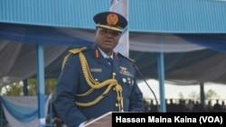 Babban Hafsan sojojin saman Najeriya Air Marshall Sadique Abubakar