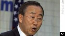 潘基文欢迎改善两韩关系的新步骤