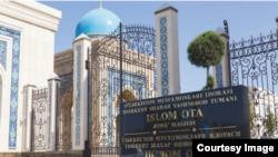 O'zbekistonning marhum prezidenti Islom Karimov sharafiga Toshkentda qurilgan Islom ota masjidi