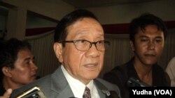 Politikus senior Indonesia, Akbar Tandjung (Foto: VOA/Yudha)