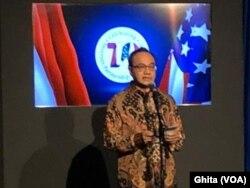 Pelaksana Tugas (Plt) Juru Bicara (Jubir) Kementerian Luar Negeri (Kemenlu) RI Teuku Faizasyah. (Foto: VOA/ Ghita)