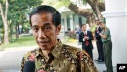 Presiden Joko Widodo di Istana Merdeka, Jakarta (Foto: dok).