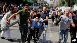 Vụ nổ ở Rafah xảy ra trong lúc người tản cư xếp hàng nhận thức ăn.