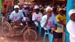 Portadores de deficiencias ainda com dificudlades em Angola -