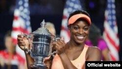 ၂၀၁၇ ခုႏွစ္ US Open အမ်ဳိးသမီး တဦးခ်င္း တင္းနစ္ ခ်န္ပီယံ Sloane Stephens.