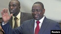 Sabon shugaban kasar Senegal Macky Sall