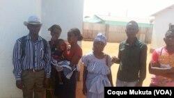 Familiares de Cassule e Kamulingue