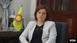 Hêvî Mistefa, Hevseroka Encûmena Rêvebiriya Demokratîk ya herêma Efrîn