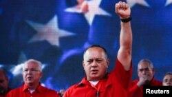 Cabello dijo que a Chávez le costó la vida enfrentar a EE.UU.