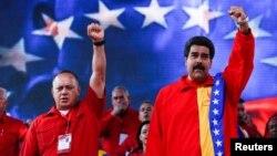 Maduro y Cabello han anunciado medidas para oponerse a los cambios que promueve la oposición con su nueva mayoría.